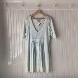 Anthropologie Light Chambray Dress w/ Pockets